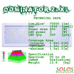 DominatorXL2x_LED_Grow_Light_spectrum_spread_flower_plant_cannabis_Lush_Lighting_0